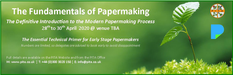 Fundamentals of Papermaking Banner Ad 2020
