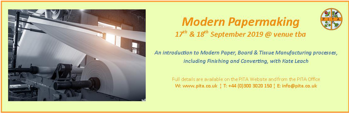 Modern Papermaking Course 2019 Banner Ad