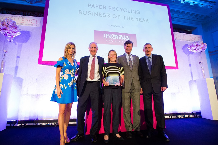 paper recycling business of the year winners 920